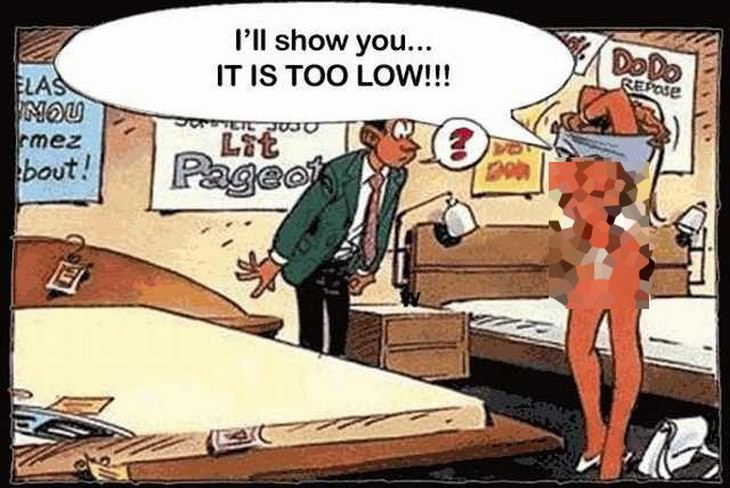 cartoon, bed, rude