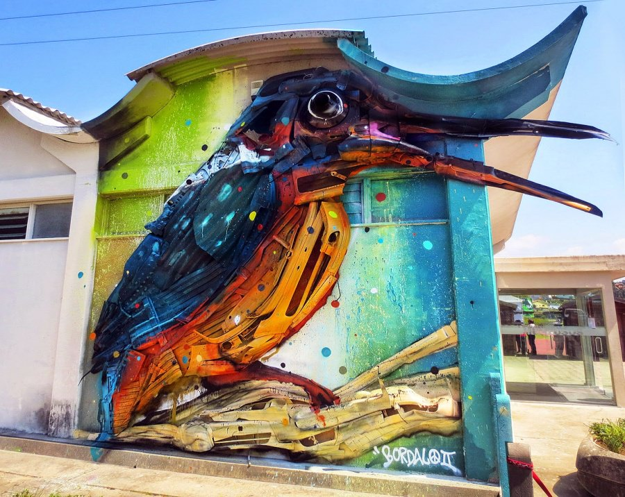 Top 20 of the Most Stunning Works of Street Art | Art - BabaMail VY93