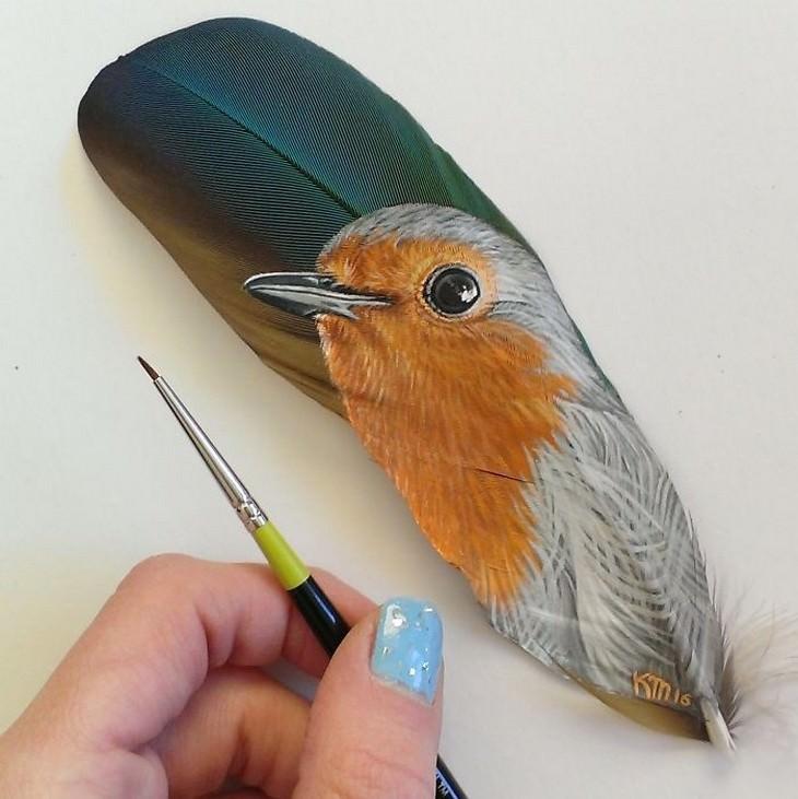 art, feather, pet portraits
