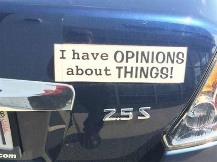 bumper stickers, funny