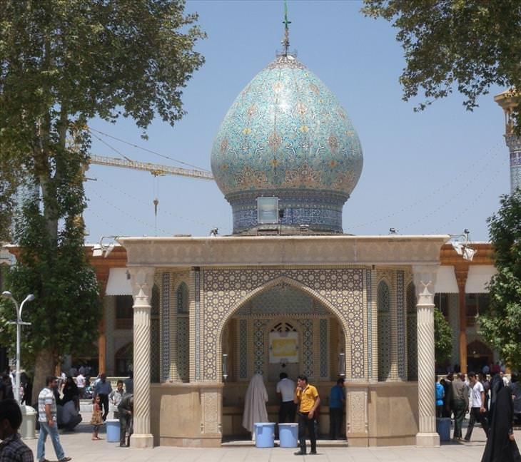 green mosque, Shiraz, Iran, beautiful