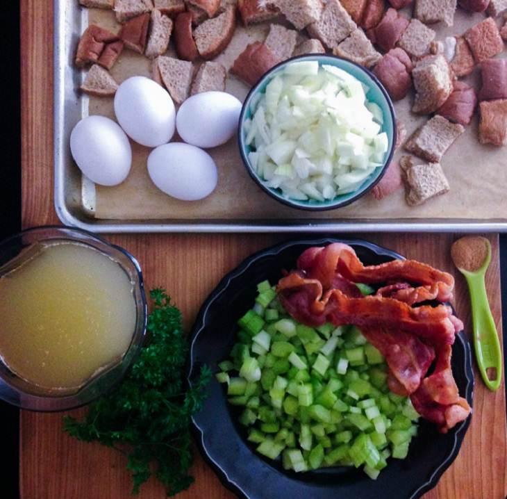 Recipe - Delicious - stuffing
