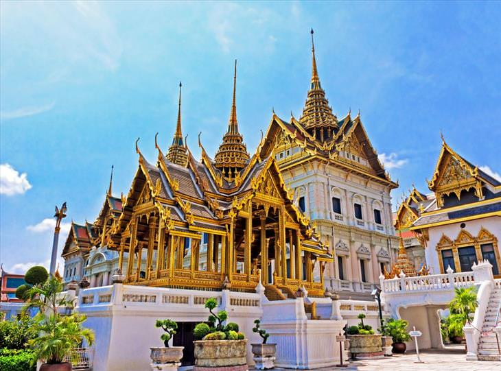 Thailand temples, beautiful
