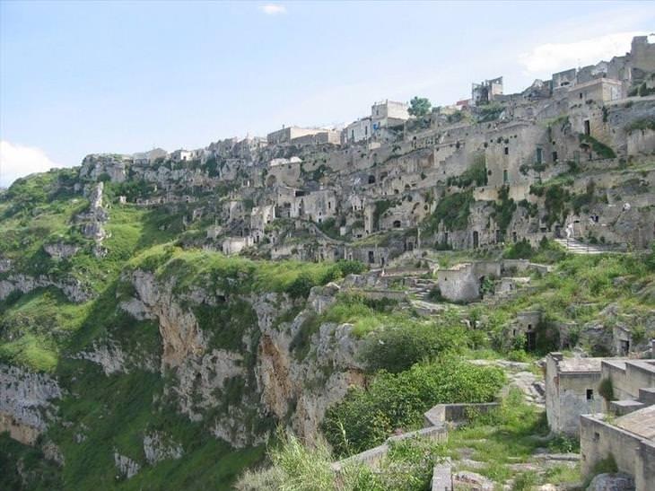 Matera caves, italy