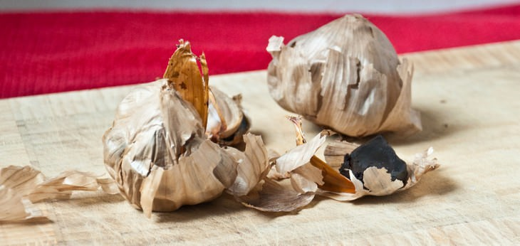 black garlic, food, health