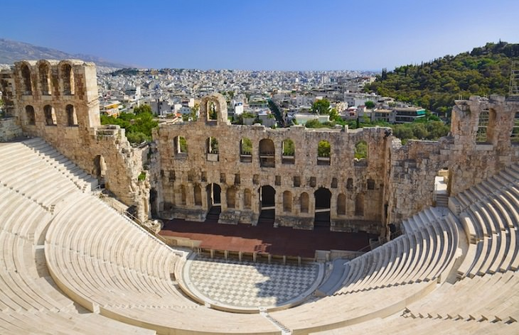 Theaters - Greek - Roman - Antiquity