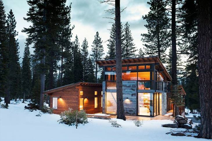 27 perfect for winter log cabins design photography babamail
