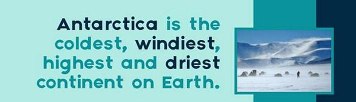 facts, Antarctica, amazing