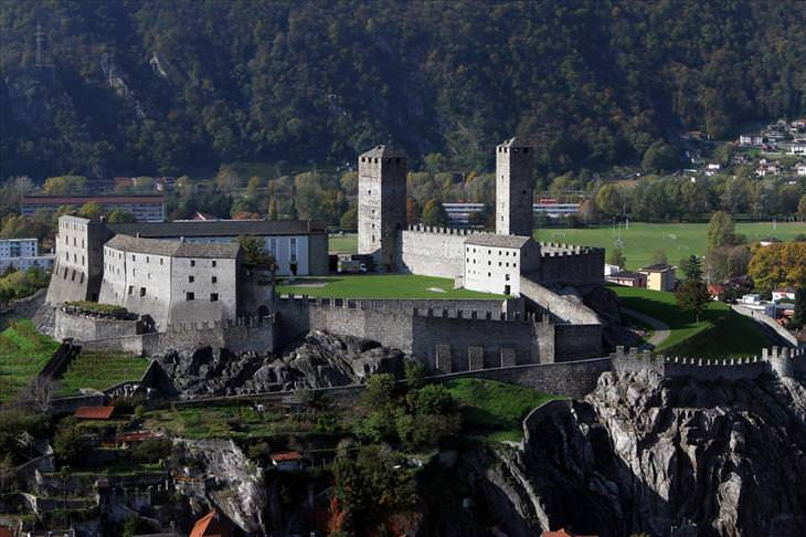 Swiss castles, beautiful, travel