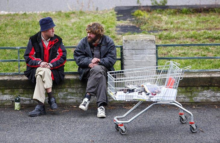 funny - joke - homeless man - act of kindness
