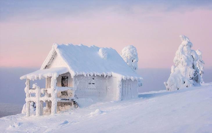 Lapland, beautiful, snow, winter