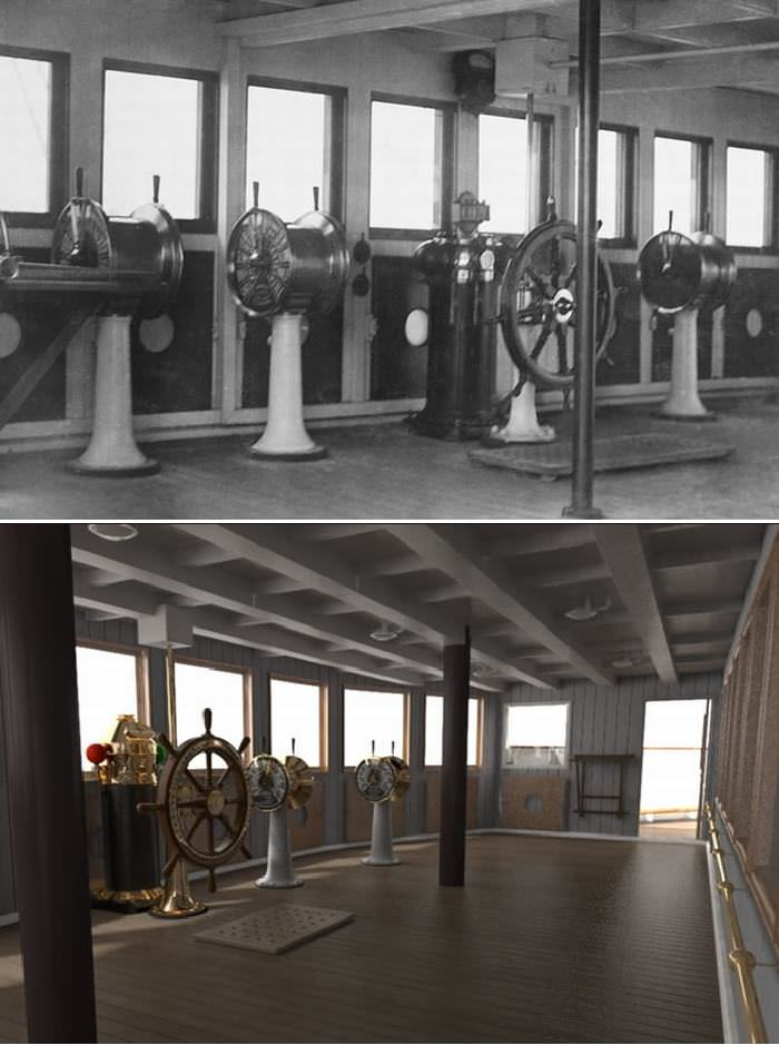 Photos of the titanic ii wheels air water babamail - Did the titanic have swimming pools ...