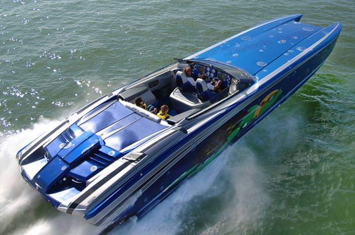 These Powerboats Are Fast Enough To Make Your Eyes Water...