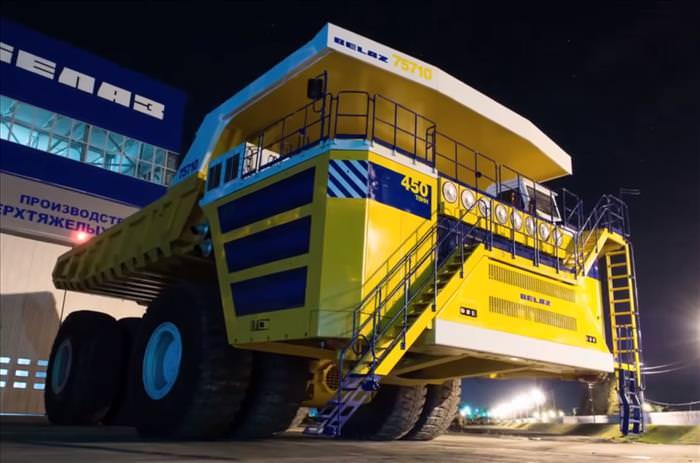 The Biggest Trucks