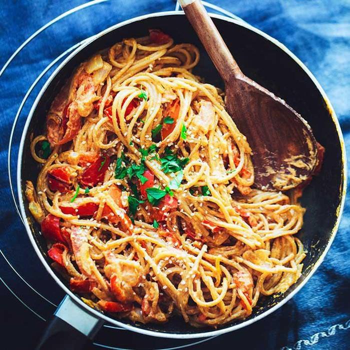 no-cream pasta