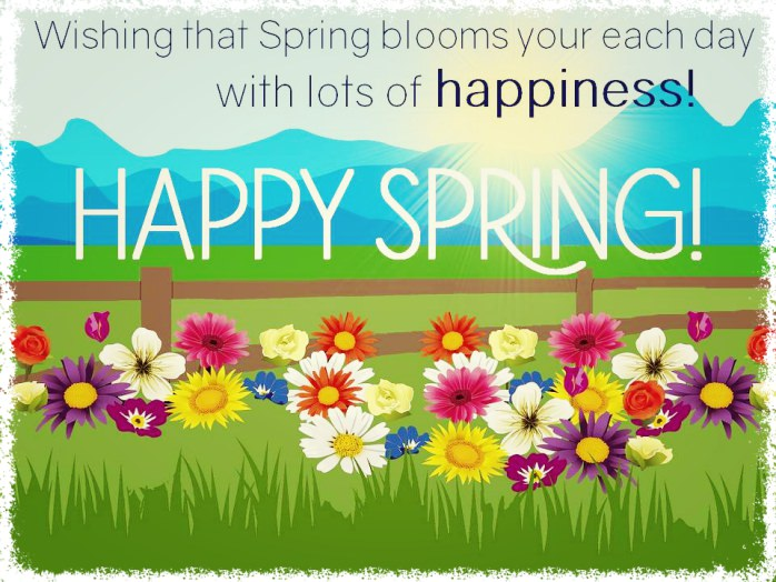 Just to say happy spring baba recommends babamail happy spring m4hsunfo