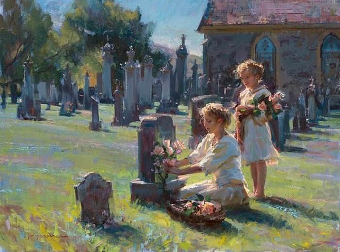 beautiful paintings  Daniel F. Gerhartz