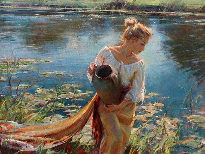 The wonderful paintings of daniel f gerhartz art babamail for Beautiful painting images
