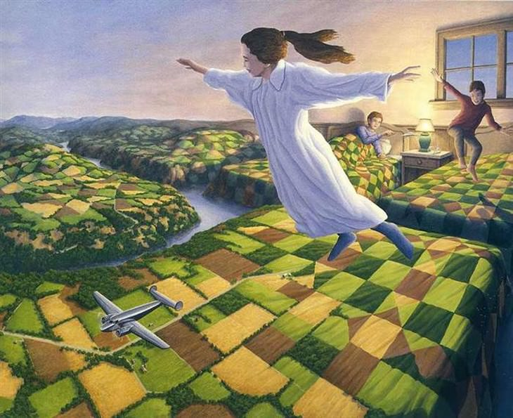 Robert Gonsalve paintings