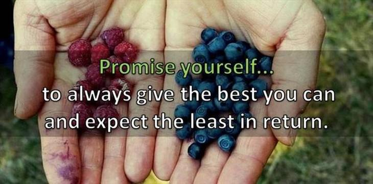 promise yourself touching inspiring