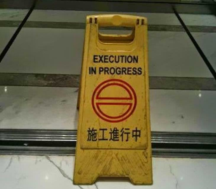 Bad English Translations