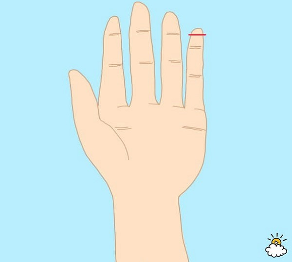 personality test - long pinky finger