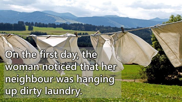 the dirty laundry moral story