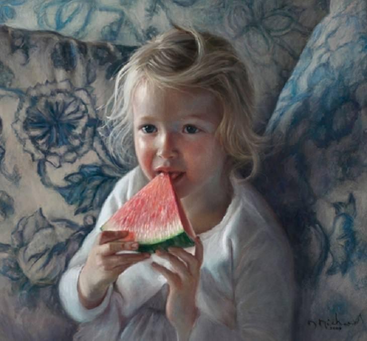 paintings of Danielle Richard