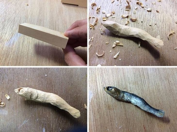 Wooden food
