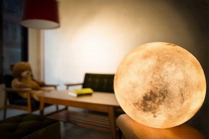 moon lamp DIY