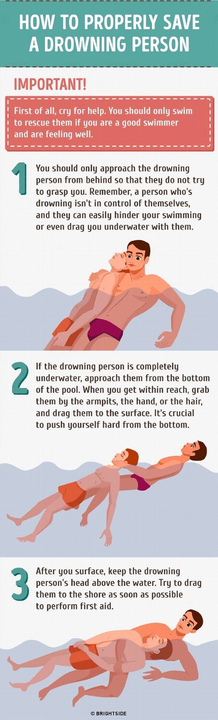 drowning tips