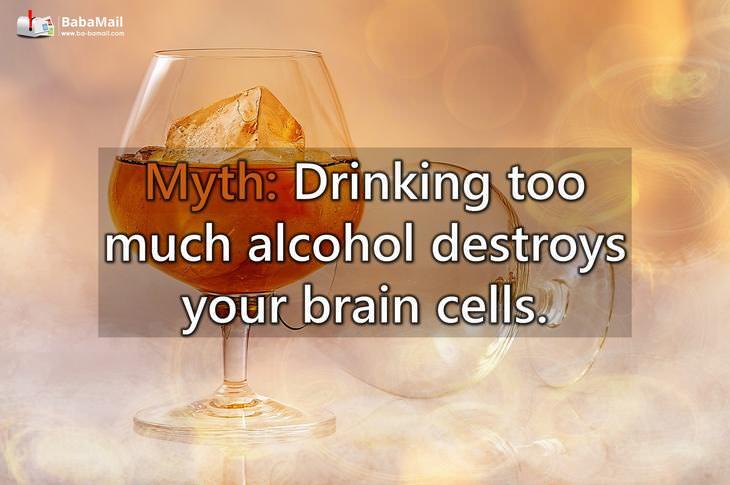 myths, alcohol