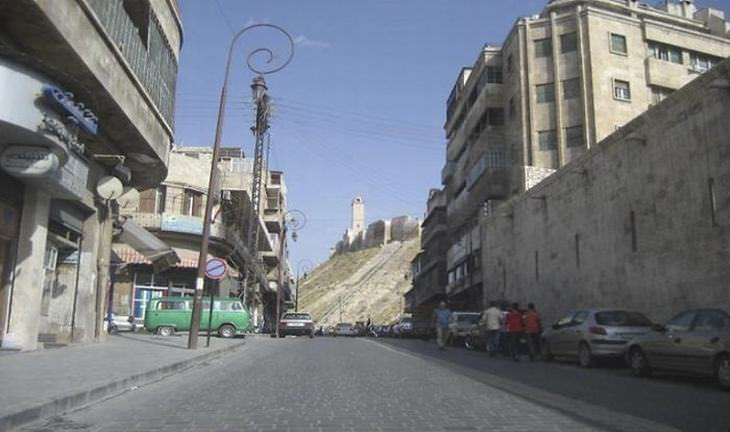 Syria War Images Then & Now