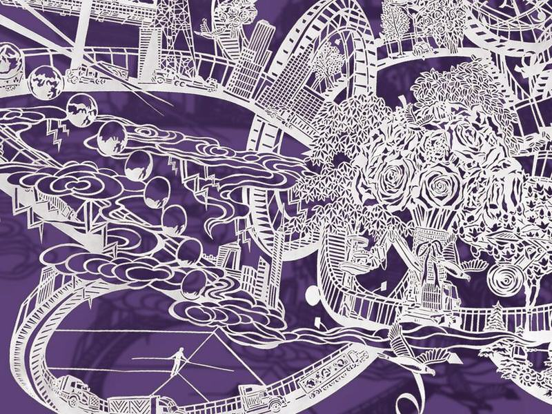 The Paper Art Works Of Bovey Lee Art BabaMail - Incredible intricately cut paper designs bovey lee