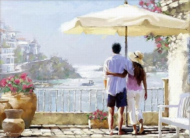 Richard MacNeil paintings