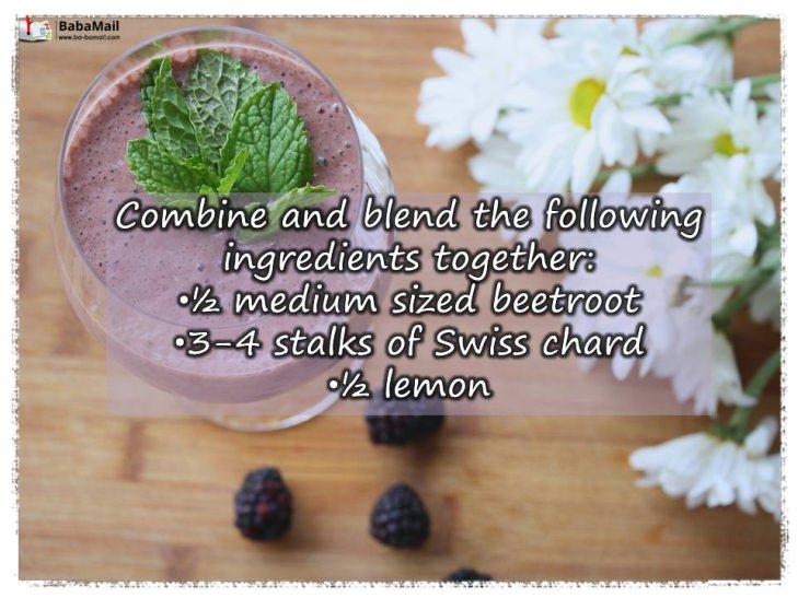 juices, migraine, remedy