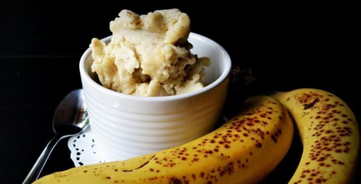 bananas, overripe