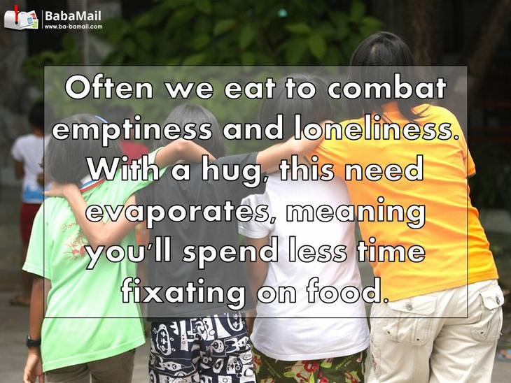 hugs, health