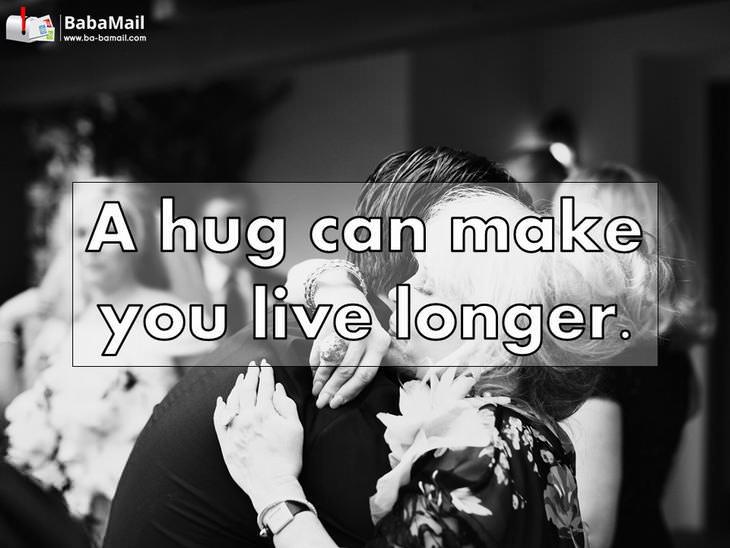 hugs, healthy