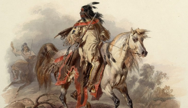 horse, indian
