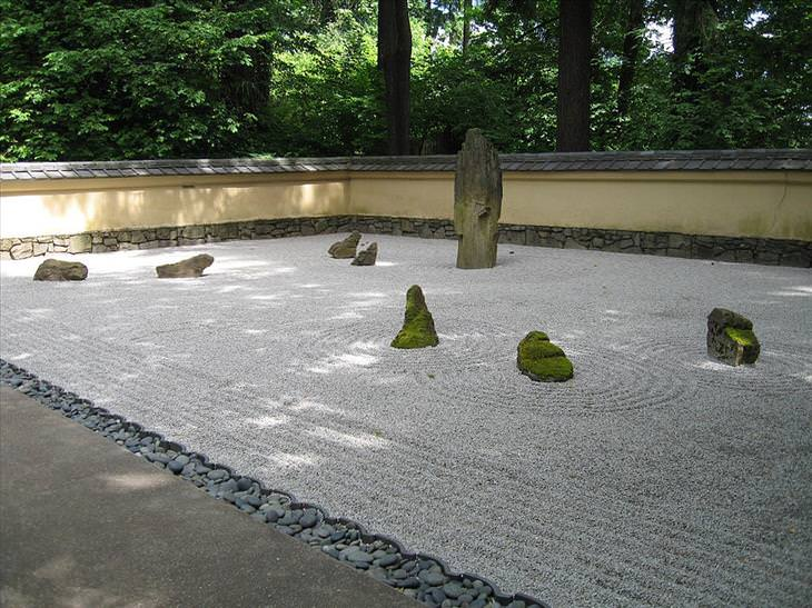 The Japanese Rock Gardens (karesansui) Or U201cdry Landscapeu201d Gardens, Often  Called U201cZen Gardensu201d, Were Influenced Mainly By Zen Buddhism And Can Be  Found At ...