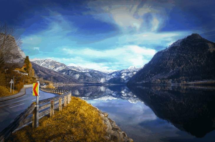 Salzkammergut, Lakes, Austria