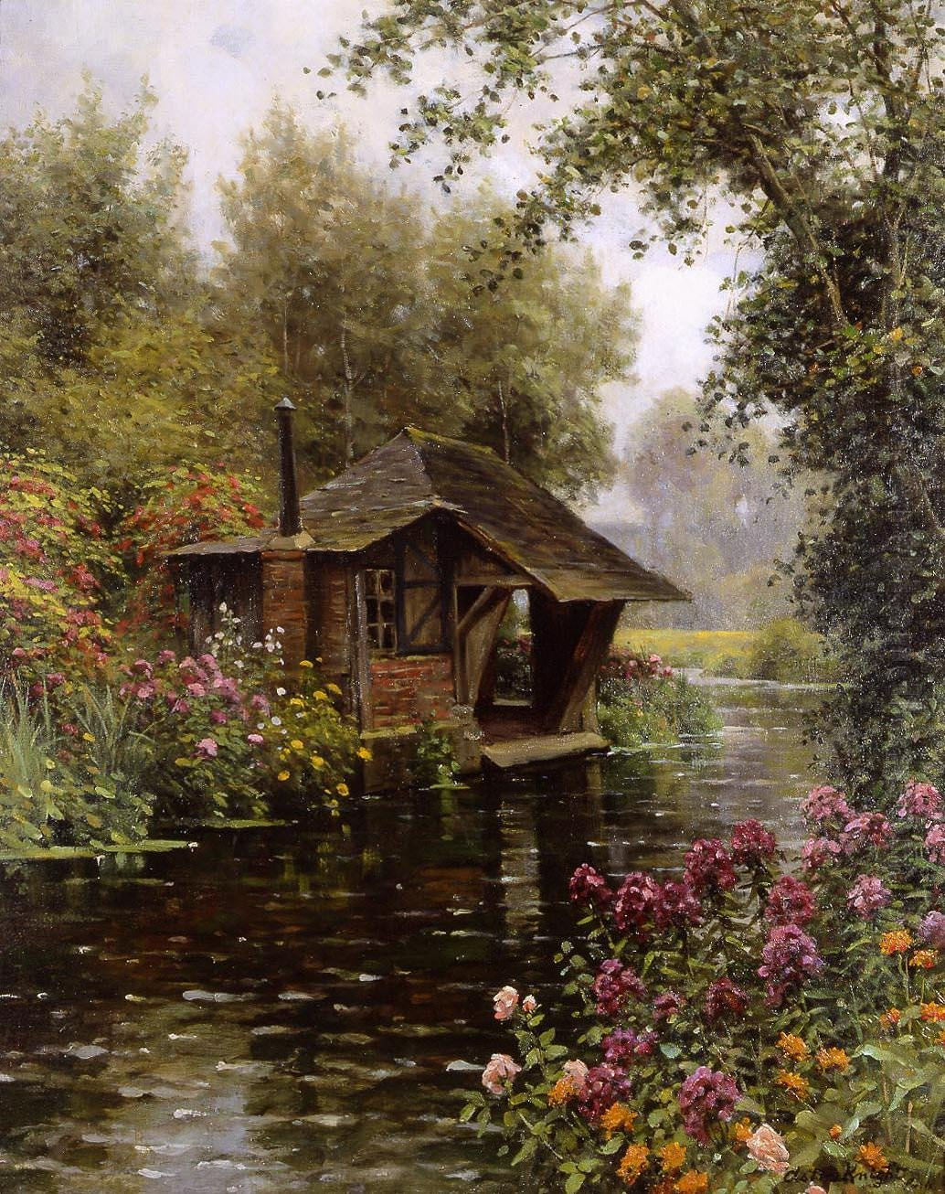 The Countryside Paintings Of Louis Aston Knight Art
