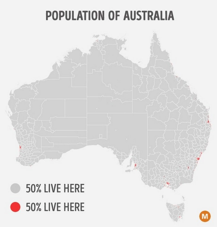 maps, population