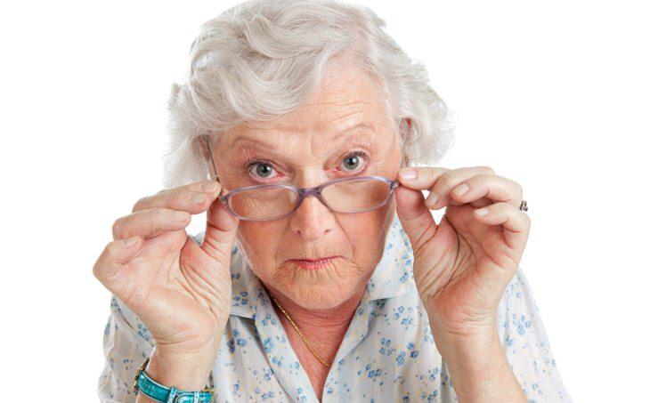 joke funny old lady