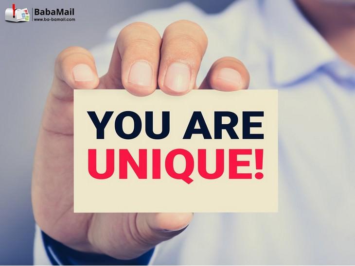 unique, personality, God