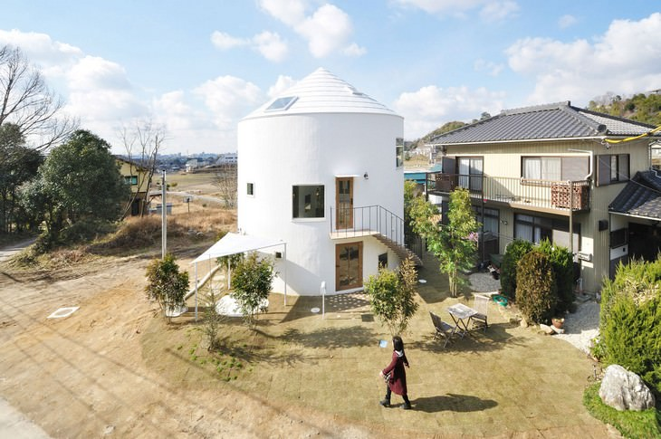 architecture, house building, construction, Japan
