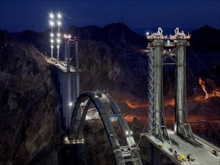 The Construction of Hoover Dam Bridge | Design & Photography ...
