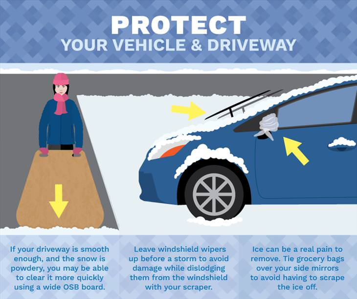 tips to clear snow