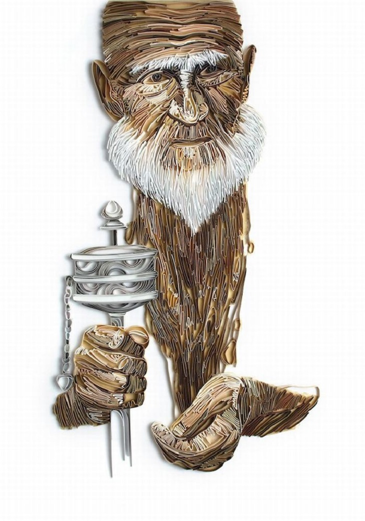 Russian - Artist - Paper Art